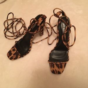 Leopard Heels Forever 21 Cape Robbin Strappy